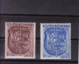 ROMANIA 1943 , LP 156 , ZIUA  SPORTURILOR  SERIE  MNH, Nestampilat