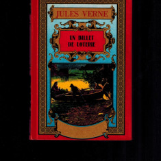 Jules Verne - Un billet de loterie - Carte in franceza