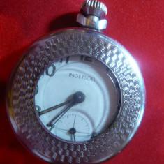 Ceas de Buzunar in caseta Ingersoll Anglia, D.= 5 cm, remontor blocat