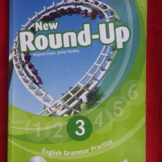 NEW ROUND-UP 3 - English Grammar Book + CD-UL . - Curs Limba Engleza