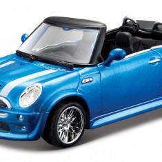 MiniCooper S Cabriolet - Metallic Blue - Minimodele Auto 1:32 Street Fire - Masinuta Bburago