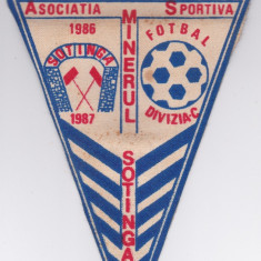 Fanion fotbal AS MINERUL SOTINGA