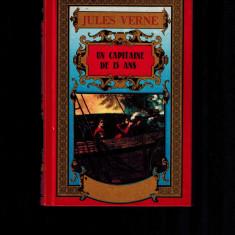 Jules Verne - Un capitaine de 15 ans - Carte in franceza