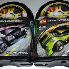 LEGO - Racers Night Driver #8132 si Rally Rider #8133 (seturile se pot combina)