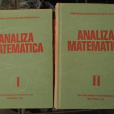 Analiza matematica - 2vol - 1980 - Carte Matematica