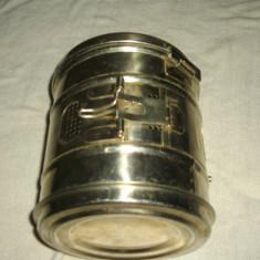 Caserola inox, rotunda, sterilizare instrumentar