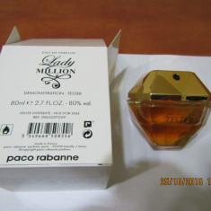 PARFUM TESTER LADY MILLION -- 80 ML -SUPER PRET, SUPER CALITATE! - Parfum femeie Paco Rabanne, Apa de parfum