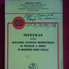 INDRUMAR PRIVIND REALIZAREA ACTIVITATII INSTRUCTIONALE DE PROTECTIA MUNCII - Carte Dreptul muncii