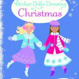 Sticker Dolly Dressing Christmas - Usborne book - Carte educativa