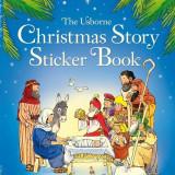 Christmas Story Sticker Book - Usborne book - Carte educativa
