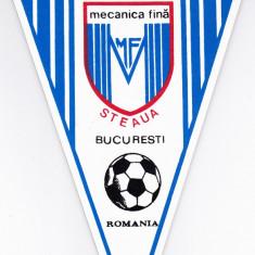 Fanion fotbal AS MECANICA FINA STEAUA BUCURESTI