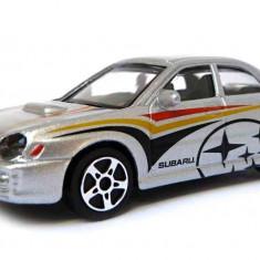 Subaru Impreza WRX - Argintiu - 1:43 Street Fire - Masinuta Bburago