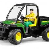 Minimodele 1:16 br4 - vehicul john deere 855d cu figurina sofer - bruder