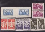 ROMANIA 1947  LP 206  LP 207  SECETA   2 SERII   SI  2 COLITE MNH
