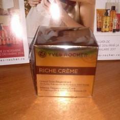 Cremă regeneratoare cu 30 de uleiuri preţioase RICHE CRÈME 75 ml (Yves Rocher) - Crema antirid