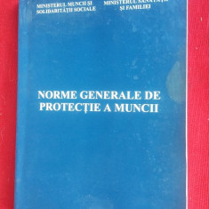 NORME GENERALE DE PROTECTIA MUNCII - Carte Dreptul muncii