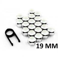 Set capace prezoane din INOX, 19mm - LAMPA ITALY - Prezoane Auto