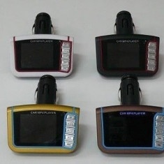 Modulator Auto Fm cu telecomanda, Mp3 / Mp4 - Modulator FM auto