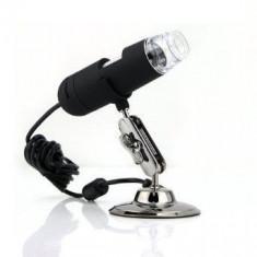 Microscop Digital pe USB 1.3MP zoom 200x cu 8 LED-URI - USB gadgets