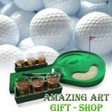 Joc de golf cu pahare