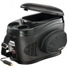Lada frigorifica auto Black & Decker 12V 5A, 9 litri, reglare automata de temperatura cu suport pahare si buzunar lateral