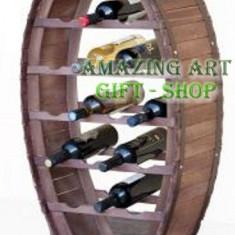 Suport pentru sticle butoi - Suport sticla vin