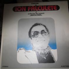 Vinil ca nou ion falculete si orchestra napoliteana - Muzica Clasica electrecord