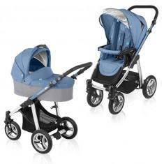 Baby design lupo 03 blue 2015 - cărucior multifuncţional 2 in 1 - Carucior copii 2 in 1