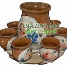 Set ceramic floral - Arta locala