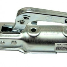 Cuplaj remorca, 750Kg, ax rotund Ø 70mm