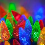 Instalatie de Craciun pentru interior / exterior cu 40 LED'uri / diferite forme - Multicolora - Instalatie electrica Craciun