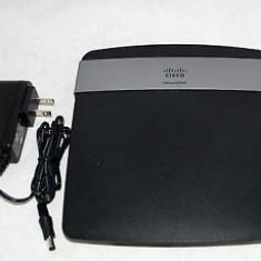 Router Wireless cisco Linksys E2500, N Dual Band, 4 x 10/100 Mbps, Porturi LAN: 4