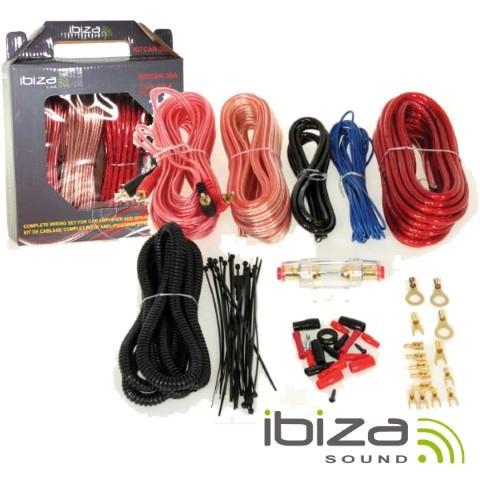 Kit complet cabluri amplificator IBIZA SOUND foto mare
