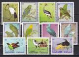 Manama 1969  fauna  pasari  MI  159-169   MNH  w40, Nestampilat