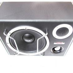 Subwoofer Activ KGK, 500W (subwoofer + amplificator) - Subwoofer auto
