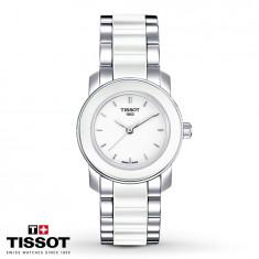 Ceas Tissot T-Lady Cera Quartz NOU !!! - Ceas dama Tissot, Lux - elegant, Inox, Ceramica, Cronograf