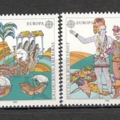 Germania.1992 EUROPA-500 ani descoperirea Americii  SG.734