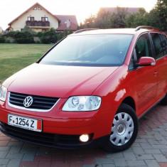 VW Touran 2006 HIGHLINE 1.9TDI Klimatronic Tempomat Comenzi Volan !!!, Motorina/Diesel, 225417 km, 1900 cmc
