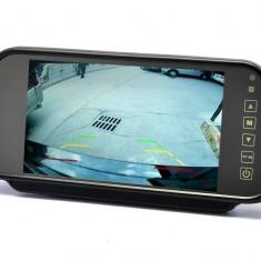 Oglinda retrovizoare cu monitor de 7