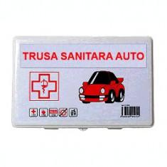 Trusa medicala auto de prim ajutor omologata, import Slovacia
