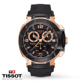 Ceas Tissot T-Race Gold Chronograph, Gold Edition