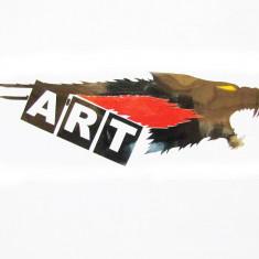 Abtibild DZ-53 negru+rosu