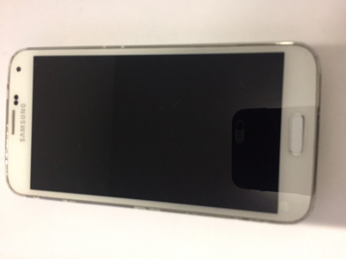 Samsung Galaxy S5, 32 GB alb foto mare