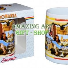 Cana in cutie souvenir - Arta locala