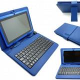 Husa din piele cu tastatura USB pentru tableta de 7 inch