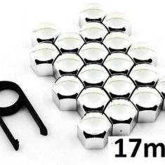 Set capace prezoane din INOX, 17mm - LAMPA ITALY - Prezoane Auto