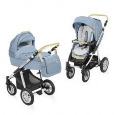 Baby design dotty denim 03 blue 2015 - carucior 2 in 1 - Carucior copii 2 in 1