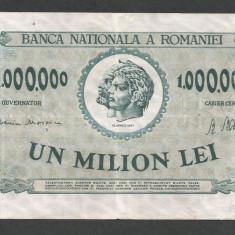 ROMANIA 1000000 1.000.000 LEI 1947 [2] - Bancnota romaneasca