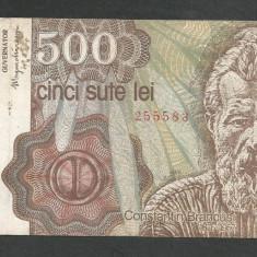 ROMANIA 500 LEI 1991 [3] APRILIE - Bancnota romaneasca