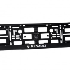 Suporti numar inmatriculare RENAULT (set 2 buc) - Suport numar Auto